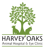 Harvey Oaks Animal Hospital logo